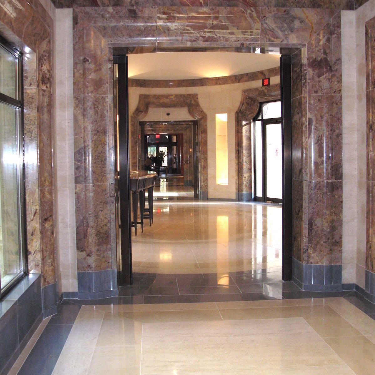 French Limestone Chamesson B2-4 et B7 floor tiles