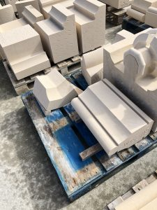 Lavoux French limestone - cathedral masonry